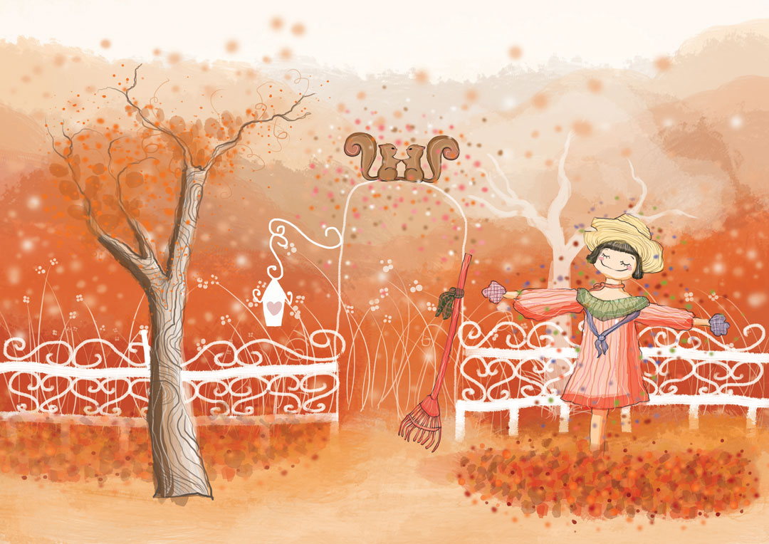 Kaori Yorado Children's Picture Book Illustrations
